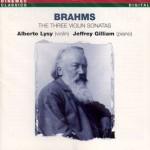 J. Brahms: 3 violinsonatas
