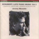 Jeremy Menuhin: Schubert Vol 1